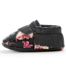Load image into Gallery viewer, BirdRock Baby - Wildflower Genuine Leather Baby Moccasins