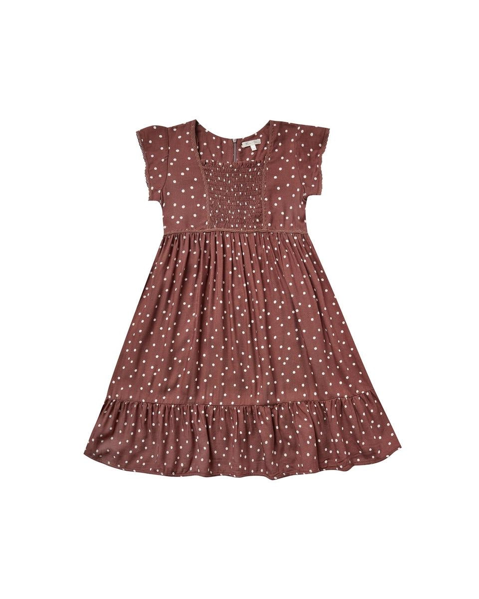 dot madeline dress (RC258WE)