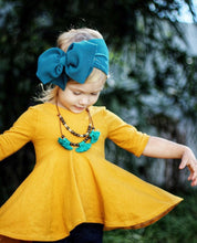 Load image into Gallery viewer, Headwrap Bow, Teal