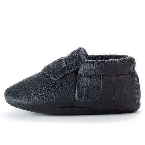Black - Baby Moccasins