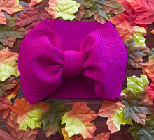 Load image into Gallery viewer, Headwrap Bow, raspberry