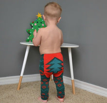 Load image into Gallery viewer, Southwestern Christmas Tree Leggings