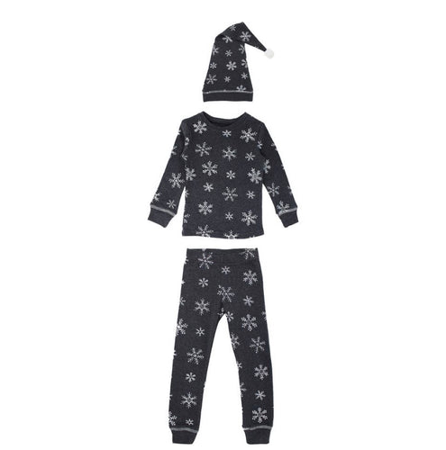 Frost Organic Long Sleep PJ & Cap Set