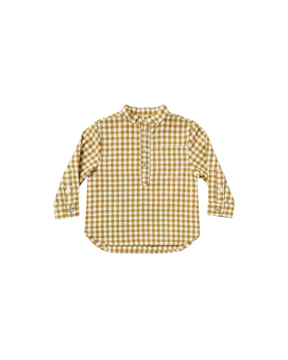 gingham mason shirt (RC193GR)