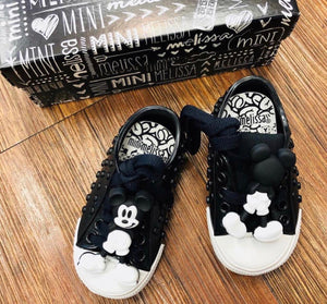 Girls' Mini Polibolha + Disney Lace Up Sneakers - Walker, Toddler