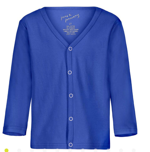 The Classic Cardigan - / Cobalt