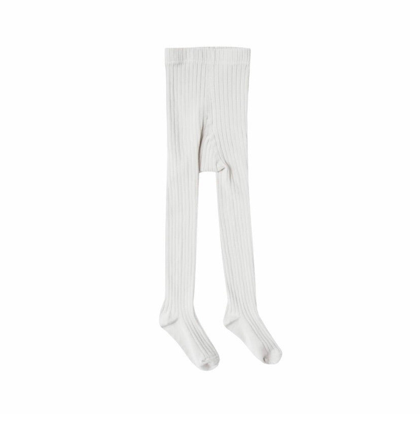 Rylee and Cru | Coconut Solid Ribbed Tights