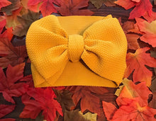 Load image into Gallery viewer, Headwrap Bow, mustard