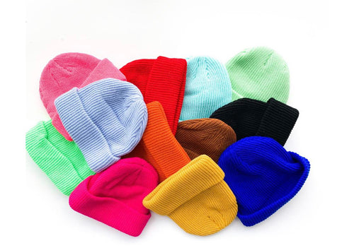 The Basic Beanie- choose your favorite color