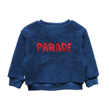 Load image into Gallery viewer, ONE DAY PARADE TEDDY CARDIGAN (BLUE)