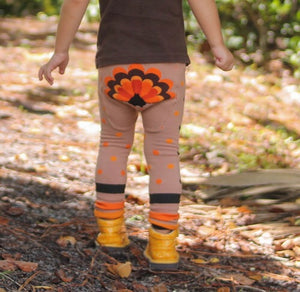 Gobble Gobble Cotton Leggings