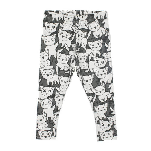 Wicked Cat Leggings - last one 12-24months