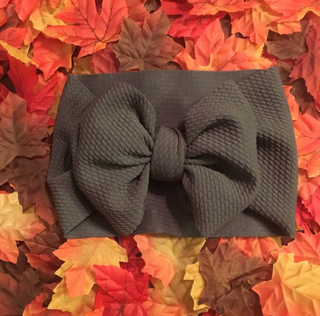 Headwrap Bow, Cargo