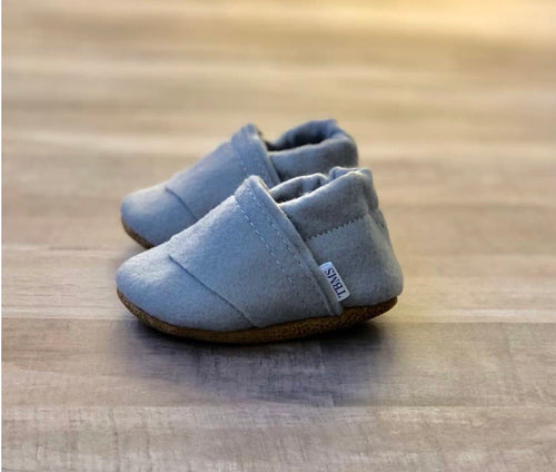 Trendy Baby Mocc Shop - Gray Angled Low Tops