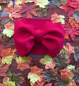 Headwrap Bow in Red