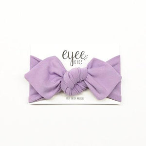 Top Knot Headband- Lavender