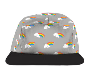 KAWAII RAINBOW CAMP CAP