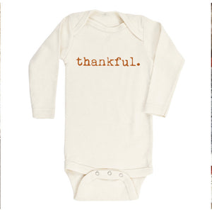 THANKFUL - ORGANIC BODYSUIT - LONG SLEEVE