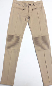 Mayoral Motor Leggings in Cream