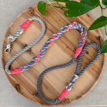 Load image into Gallery viewer, Custom Tri Braided Leash