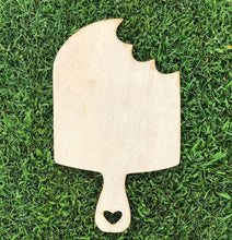 "Load image into Gallery viewer, 19"" x 11.5"" Popsicle Door Hanger Wood Cutout"