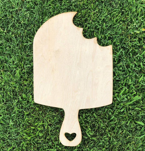 19' Popsicle Wood Cutout