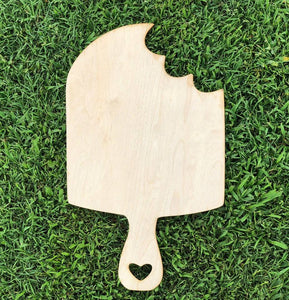 "19"" x 11.5"" Popsicle Door Hanger Wood Cutout"