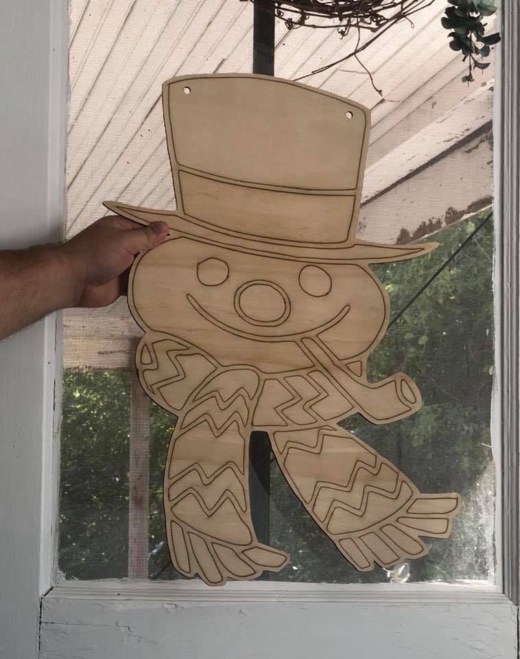 Frosty The Snowman Cutout
