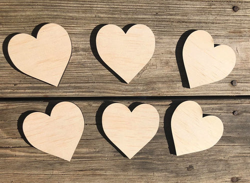 Heart Wood Cutout