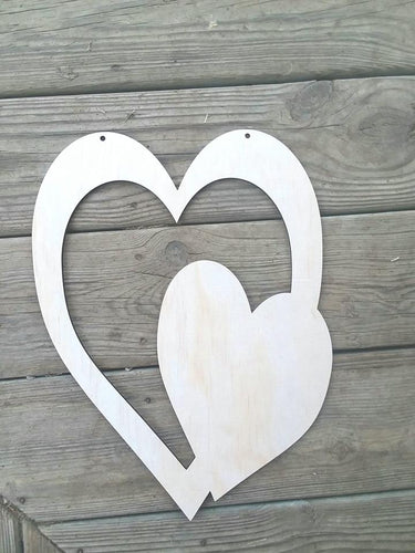 Double Heart Cutout