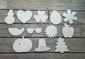"6"" Seasonal Shape Set"
