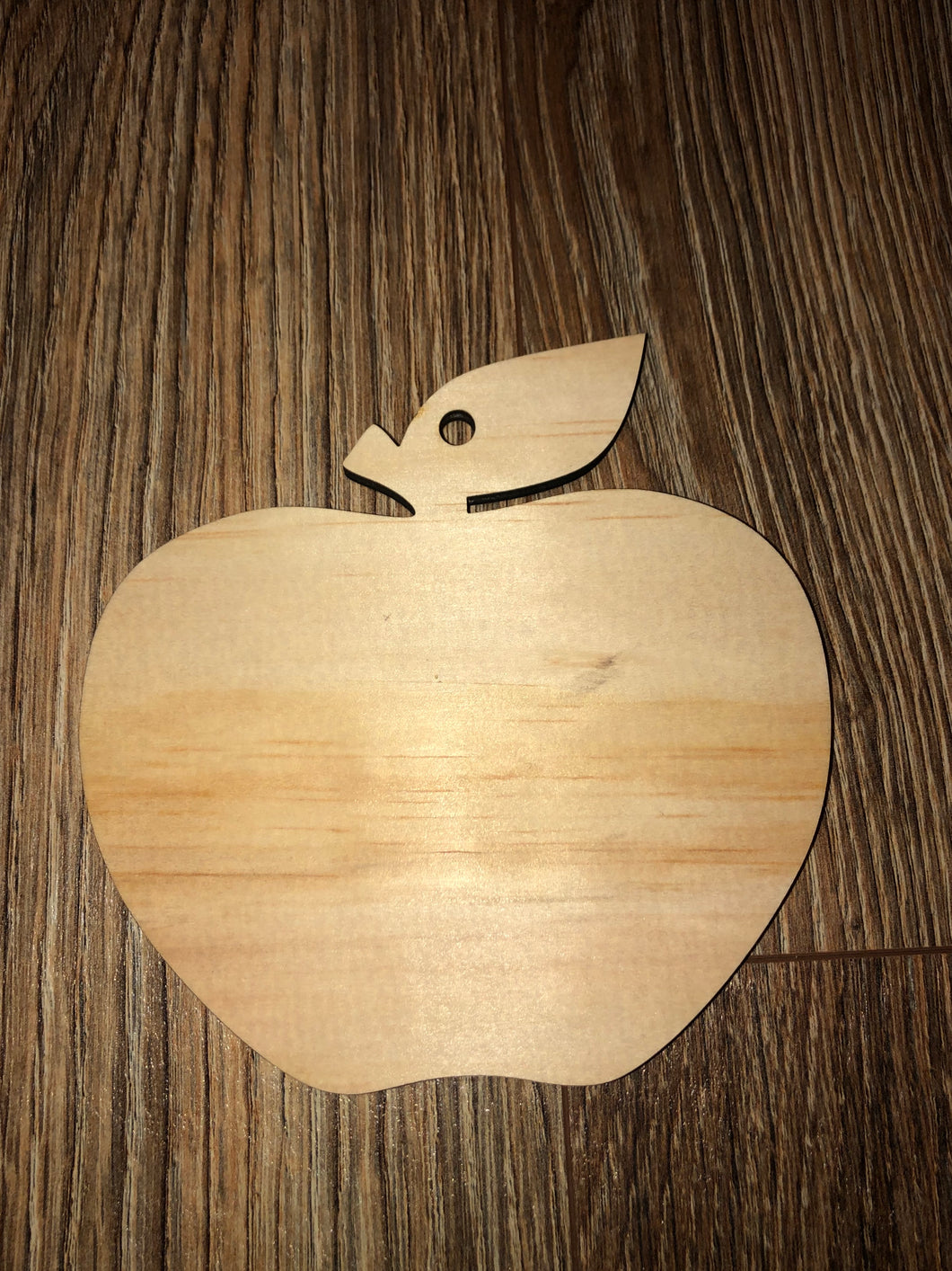 "5"" apple ornament"