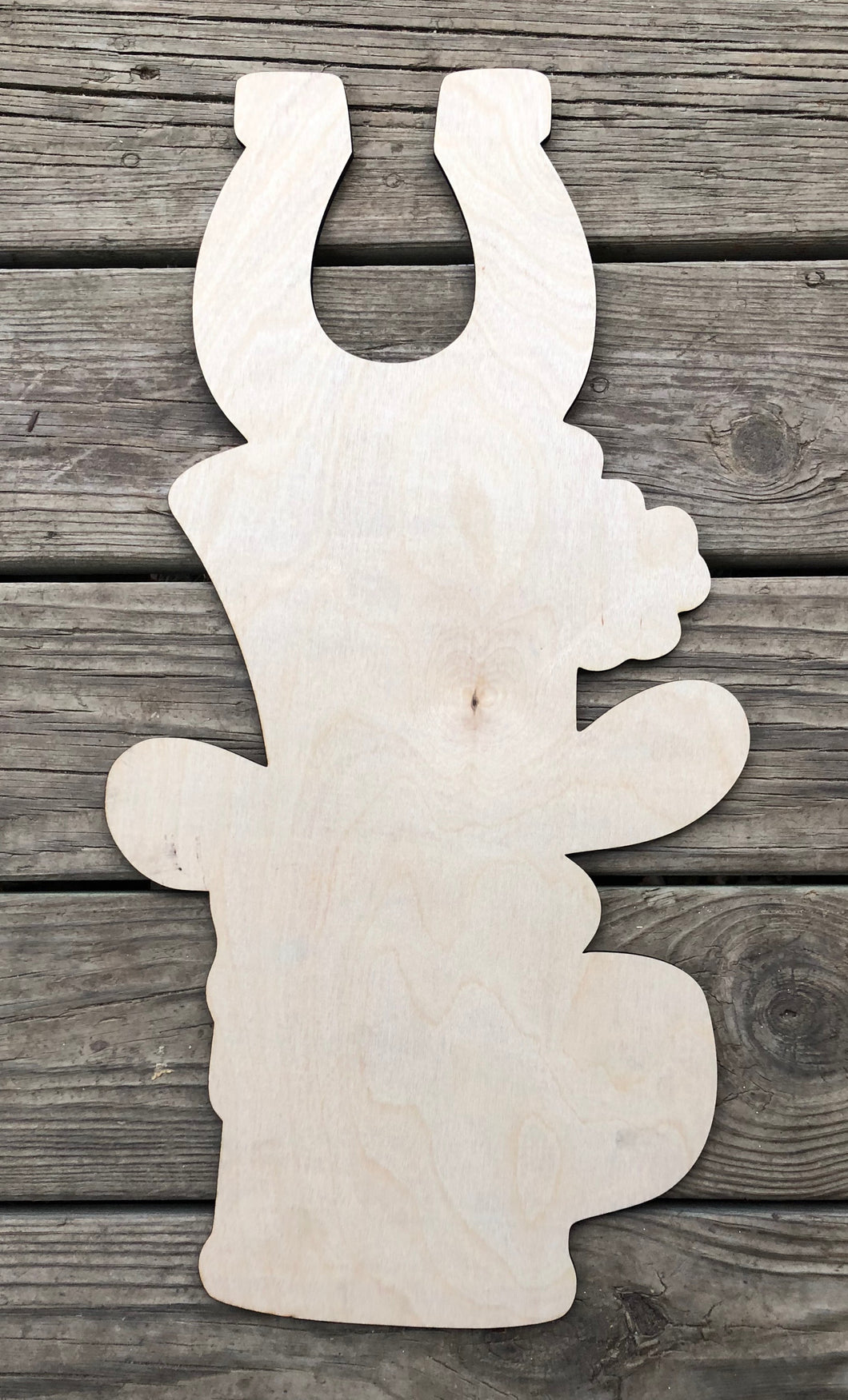 "22"" St Patrick's Day Tri Piece Door Hanger Wood Cut Out"