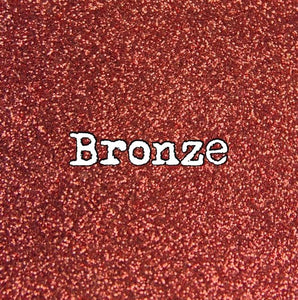2 Oz. Bronze Metallic Glitter Ultra fine