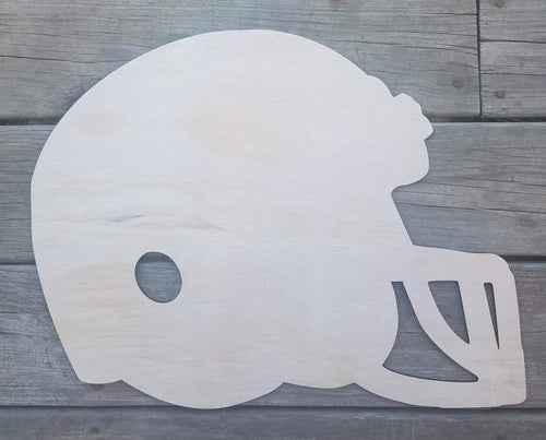 "19"" Helmet Wood Cutout"