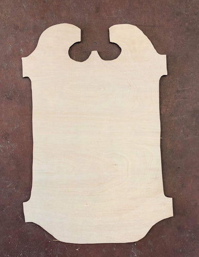 "22"" x 15"" Spooky Plaque Door Hanger Wood Cutout"