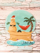 "Load image into Gallery viewer, 17"" x 14"" Snow Globe Door Hanger Wood Cutout"