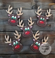 "Load image into Gallery viewer, 5"" Reindeer Ornament"