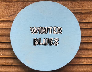 Winter Blues 4 Oz. Bottle Peacock Paints