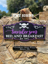 Load image into Gallery viewer, Sanderson Sign Wood Cutout