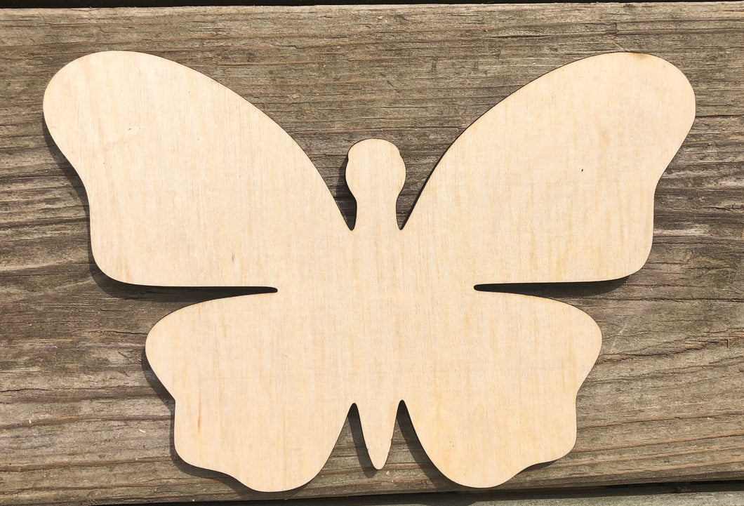 "7"" Butterfly Wood Cutout"