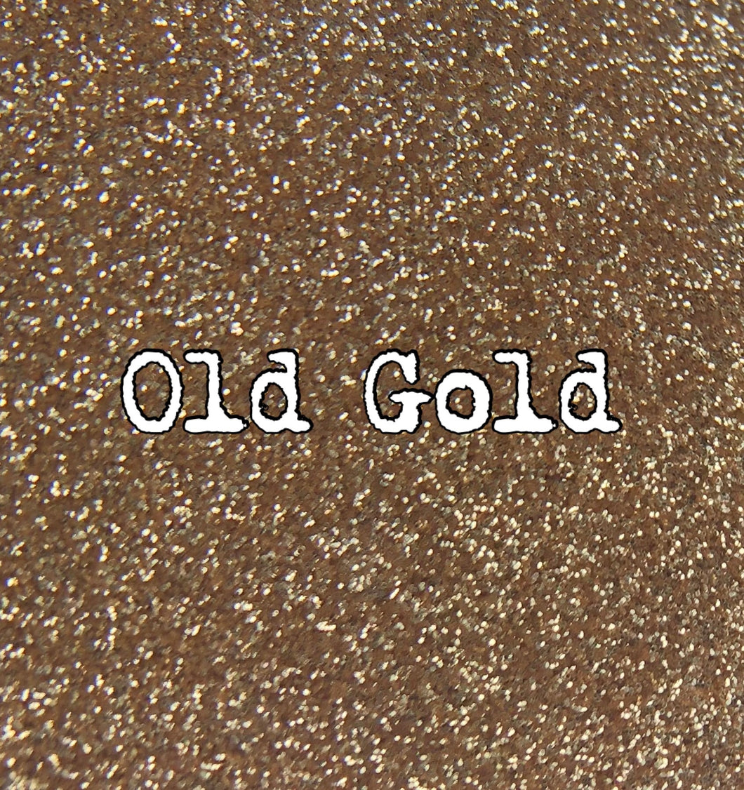 2 0z Old Gold Glitter Ultra Fine