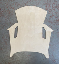 "Load image into Gallery viewer, 21"" x 18"" Beach Chair Door Hanger Wood Cutouts"