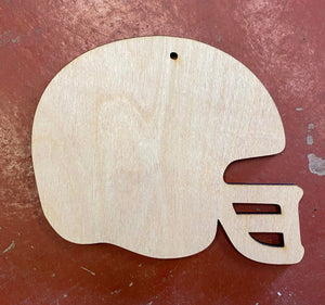 "4.5"" Helmet Ornament"