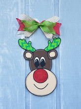 "Load image into Gallery viewer, 22"" Giant Reindeer Wood Cutout"