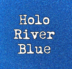 2 Oz. River Blue Holographic Glitter Ultra fine