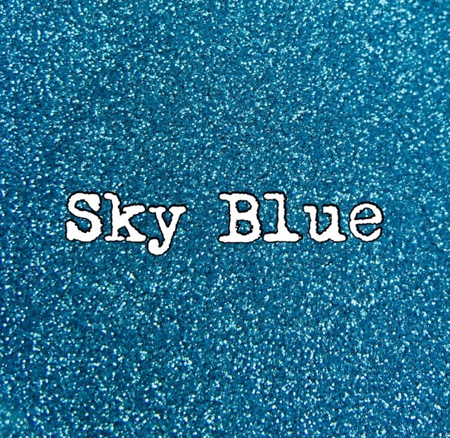 2 Oz. Sky Blue Metallic Glitter Ultra fine