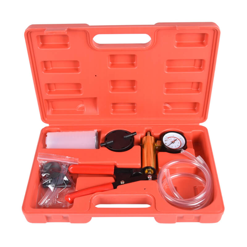 MY-BOS19 Vacuum tester & brake bleeding kit vacuum brake bleeder kit sunbright