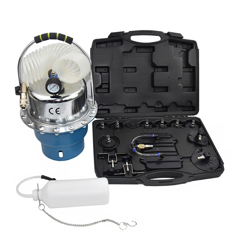 MY-BOS34 Pneumatic brake bleeder kit air pressure brake fluid extractor bleeder tool sunbright