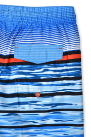 BOYS SHORE BREAK DEEP SKY BOARDSHORT UPF 50